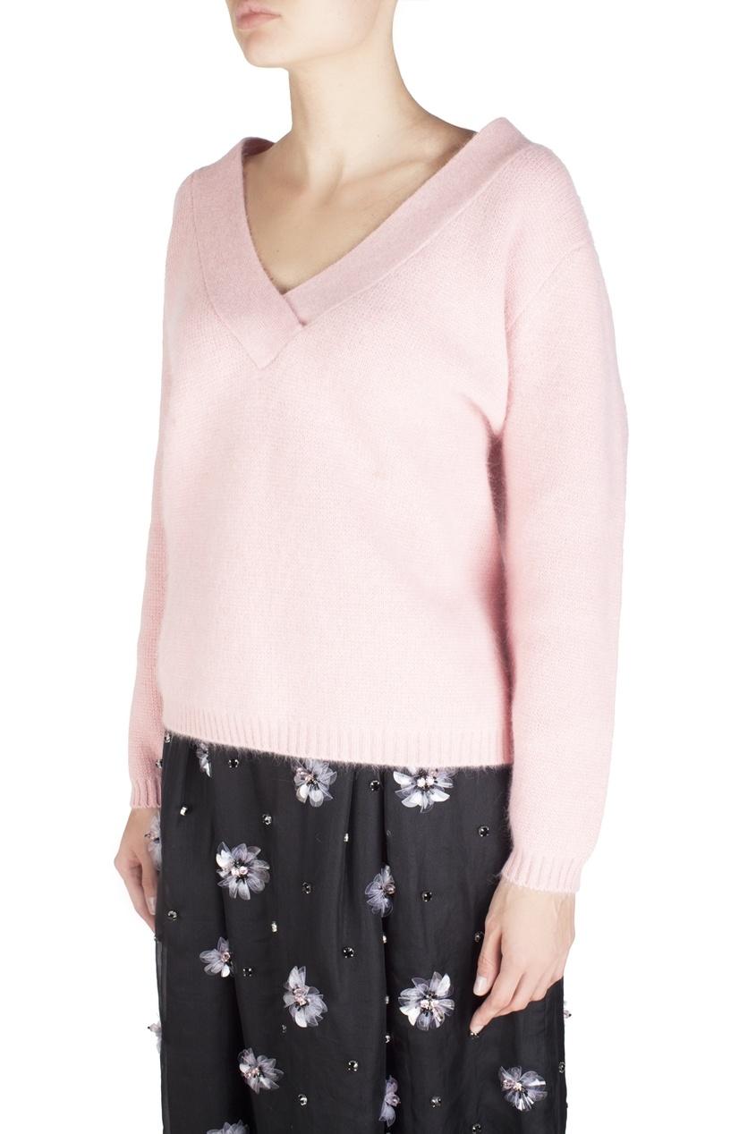 Пуловер Из Ангоры Купить С Доставкой