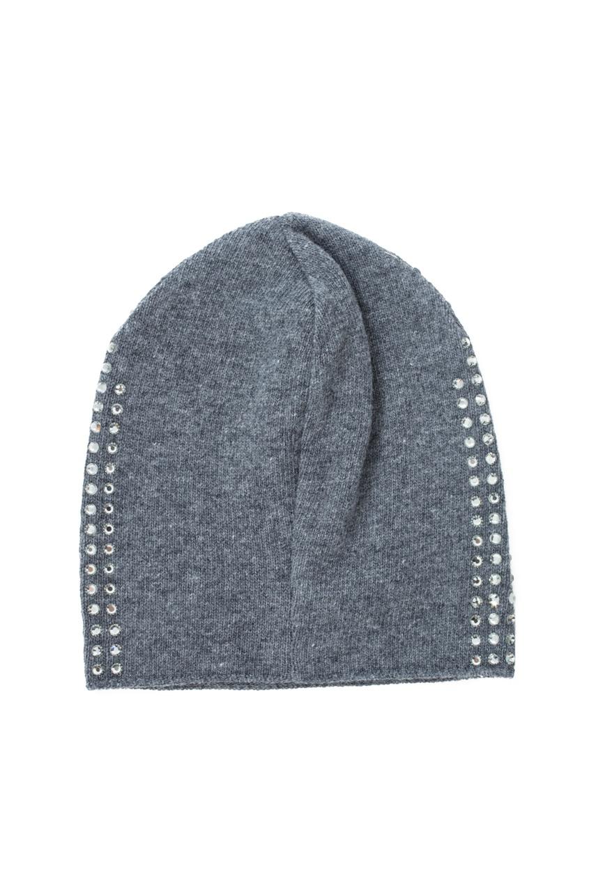 Шерстяная шапка с кристаллами от AIZEL