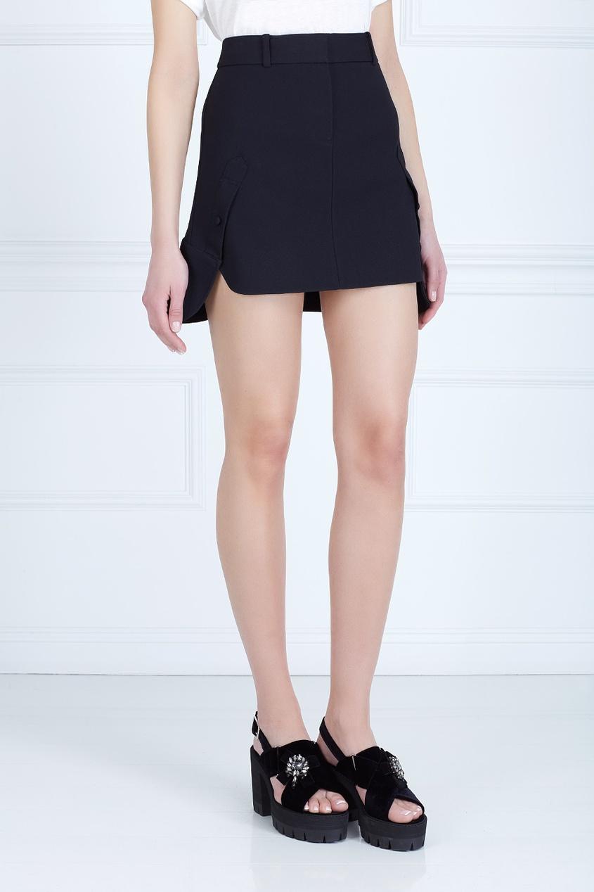 Однотонная юбка от AIZEL